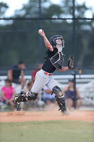 Braeson Fulton (64) of Riverheads High School in Staunton, Virginia during the Under Armour Baseball Factory National Showcase, Florida, presented by Baseball Factory on June 13, 2018 the Joe DiMaggio Sports Complex in Clearwater, Florida.  (Nathan Ray/Four Seam Images)