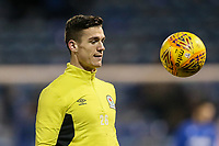 Blackburn Rovers' Darragh Lenihan warming up<br /> <br /> Photographer Andrew Kearns/CameraSport<br /> <br /> The EFL Sky Bet League One - Portsmouth v Blackburn Rovers - Tuesday 13th February 2018 - Fratton Park - Portsmouth<br /> <br /> World Copyright &copy; 2018 CameraSport. All rights reserved. 43 Linden Ave. Countesthorpe. Leicester. England. LE8 5PG - Tel: +44 (0) 116 277 4147 - admin@camerasport.com - www.camerasport.com
