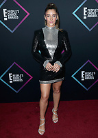 SANTA MONICA - NOVEMBER 11:  Aly Raisman at the People's Choice Awards 2018 at The Barker Hangar on November 11, 2018 in Santa Monica, California. (Photo by Xavier Collin/PictureGroup)
