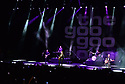HOLLYWOOD, FL - JANUARY 29: Brad Fernquist, Jim McGorman, Johnny Rzeznik, Craig Macintyre and Robby Takac of Goo Goo Dolls performs on stage at Hard Rock Event Center at the Seminole Hard Rock Hotel & Casino on January 29, 2020 in Hollywood, Florida.  ( Photo by Johnny Louis / jlnphotography.com )