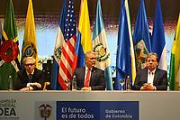 MEDELLÍN - COLOMBIA ,28-06-2019:El Presidente de Colombia Ivan Duque durante  La 49 Asamblea General de La Organización de Estados Americanos (OEA)/ The President of Colombia Ivan Duque during the 49th General Assembly of the Organization of American States (OEA). Photo: VizzorImage / León Monsalve / Contribuidor.