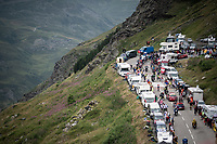 2 km from the finish in Val thorens<br /> <br /> shortened stage 20: Albertville to Val Thorens (59km in stead of the original 130km due to landslides/bad weather)<br /> 106th Tour de France 2019 (2.UWT)<br /> <br /> ©kramon