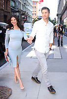 NEW YORK, NY - AUGUST 30: Roselyn Sanchez and Eric Winter at AOL Build promoting her new book Sebi And The Land of Cha Cha Cha in New York City on August 30, 2017. Credit: RW/MediaPunch