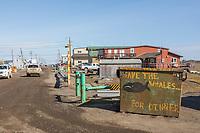 Utqiagvik (Barrow) Alaska, in Alaska's Arctic.
