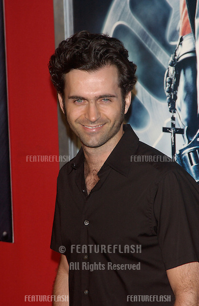 Actor DWEEZIL ZAPPA at the Los Angeles premiere of Hellboy..March 30, 2004