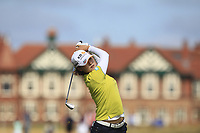 In Gee Chun (KOR) on the 2nd fairway during Round 3 of the Ricoh Women's British Open at Royal Lytham &amp; St. Annes on Saturday 4th August 2018.<br /> Picture:  Thos Caffrey / Golffile<br /> <br /> All photo usage must carry mandatory copyright credit (&copy; Golffile | Thos Caffrey)