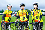 At the The Ring of North Kerry Cycle starting at FINUGE GAA on Saturday were Sliabh Mish CC Kathleen Ladden, Kathleen Brosnan, Christine Griffin