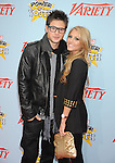 "HOLLYWOOD, CA. - December 05: Cody Longo and Cassie Scerbo arrive at Variety's 3rd annual ""Power of Youth"" event held at Paramount Studios on December 5, 2009 in Los Angeles, California."