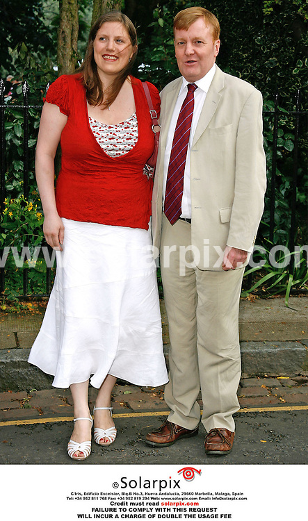 ALL ROUND PICTURES FROM SOLARPIX.COM. .Charles Kennedy and wife arrive for the David Frost Summer party in Carlyle Square, London on 05.07.06. Job Ref: 2548/SFE..MUST CREDIT SOLARPIX.COM OR DOUBLE FEE WILL BE CHARGED..