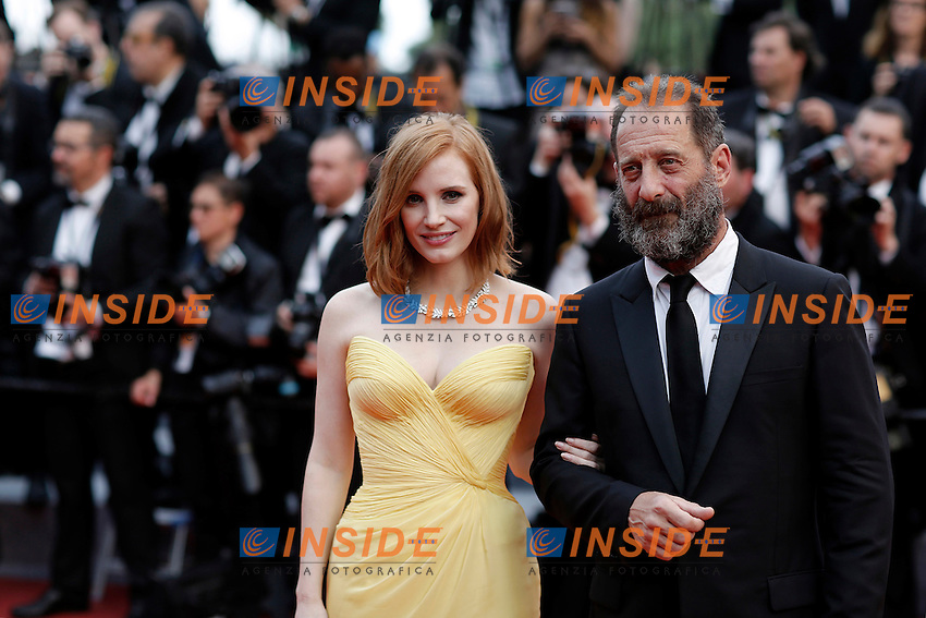 Jessica Chastain, Vincent Lindon<br /> Festival di Cannes 2016 <br /> Foto Panoramic / Insidefoto