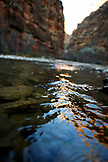 USA, Utah, Springdale, Zion National Park, the Virgin River looking towards The Narrows