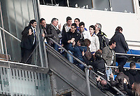Football star Diego Armando Maradona with his fans during La Liga match.March 02,2013. (ALTERPHOTOS/Acero) /NortePhoto