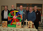 Noel McArdle, Paddy Burke, Dick McDermot, Frank Caffrey, Pat Connor and Val Haggins at the Open Day for Drogheda Men's Shed