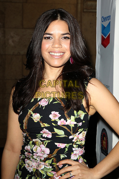 27 March 2014 - Los Angeles, California - America Ferrera. The Cesar Chavez Foundation's 2014 Legacy Awards Dinner Los Angeles Gala Dinner Held at Millennium Biltmore Hotel.  <br /> CAP/ADM/FS<br /> &copy;Faye Sadou/AdMedia/Capital Pictures