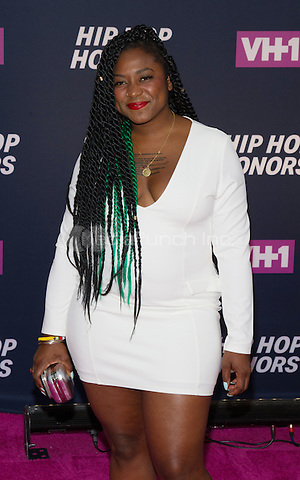 New York, NY July 11: Alicia Garza attends the VH1 Hip Hop Honors: All Hail The Queens at David Geffen Hall on July 11, 2016 in New York City.@John Palmer / Media Punch