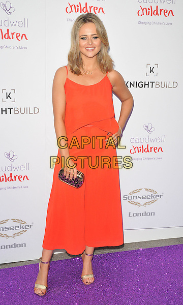 Emily Atack at the Caudwell Children Butterfly Ball, Grosvenor House Hotel, Park Lane, London, England, UK, on Wednesday 22 June 2016.<br /> CAP/CAN<br /> &copy;CAN/Capital Pictures