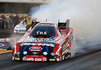 Jul. 26, 2013; Sonoma, CA, USA: NHRA funny car driver Courtney Force during qualifying for the Sonoma Nationals at Sonoma Raceway. Mandatory Credit: Mark J. Rebilas-