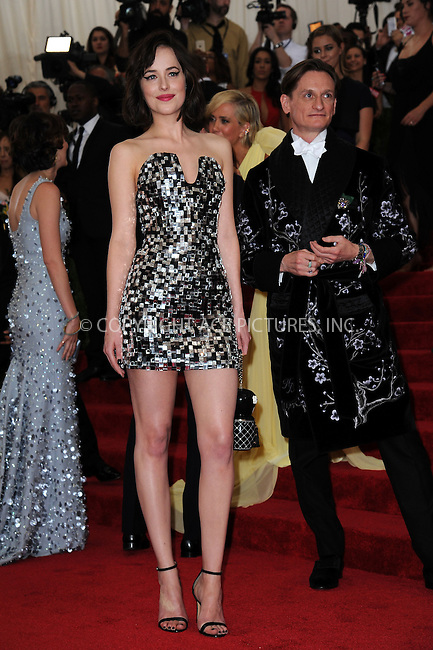 WWW.ACEPIXS.COM<br /> <br /> May 4, 2015...New York City<br /> <br /> Dakota Johnson attending the Costume Institute Benefit Gala celebrating the opening of China: Through the Looking Glass at The Metropolitan Museum of Art on May 4, 2015 in New York City.<br /> <br /> By Line: Kristin Callahan/ACE Pictures<br /> <br /> <br /> ACE Pictures, Inc.<br /> tel: 646 769 0430<br /> Email: info@acepixs.com<br /> www.acepixs.com