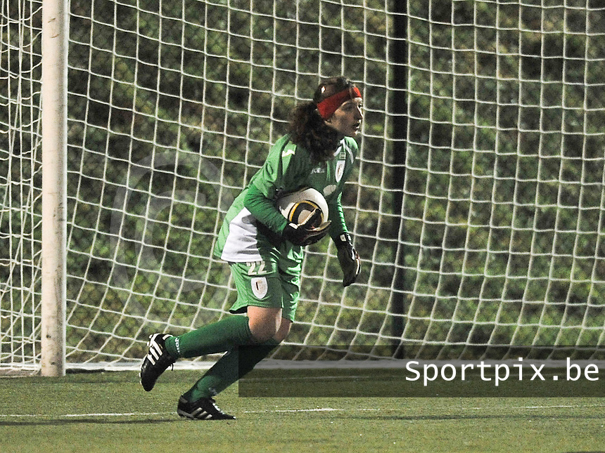 RSC Anderlecht - Standard Femina : Manon Wallez.foto DAVID CATRY / Vrouwenteam.be