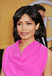 LOS ANGELES, CA - JANUARY 27: Freida Pinto  arrives at the19th Annual Screen Actors Guild Awards held at The Shrine Auditorium on January 27, 2013 in Los Angeles, California.