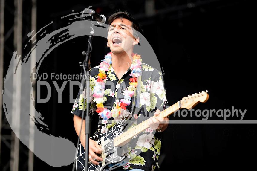 Fidlar live auf dem 19. Hurricane Festival 2015 am Eichenring. Scheeßel, 21.06.2015