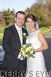 Kerry O'Connor, Ardfert, daughter of Michael and Mary O'Connor, and Mark Bergin, Port Laoise, son of Jimmy and Catherine Bergin were married at Ballybunion church by Fr. Padraig Kennelly on Friday 10th April 2015 with a reception at Ballyseedy Castle Hotel