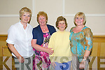 Mary Jane Reidy, Bridie Pierse, Nelly Bunce, Cathy O'Hara enjoying the Radio Kerry Concert 'All Irish' at the Brandon Hotel on Monday