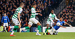 08.11.2019 League Cup Final, Rangers v Celtic: Alfredo Morelos fouled by Jeremie Frimpong for a penalty kick and a red card