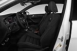 Front seat view of 2019 Volkswagen Golf R 5 Door Hatchback Front Seat  car photos