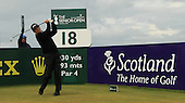during the final day of The Senior British Open Presented by Rolex: The Senior British Open is being played over the Ailsa Course at Turnberry, Ayrshire, Scotland from 26th to 29th July 2012: Picture Stuart Adams www.golftourimages.com: 29th July 2012