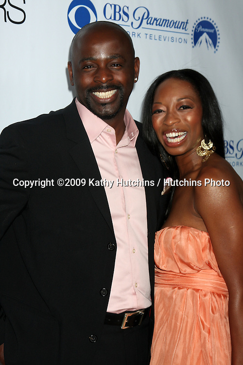 Alimi Ballard  arriving at the Numb3rs 100th Episode Party at the Sunset Tower Hotel in West Hollywood,  California on April 21, 2009.©2009 Kathy Hutchins / Hutchins Photo....                .
