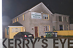 The scene outside Hurley's veterinary hospital, Tralee on Friday.
