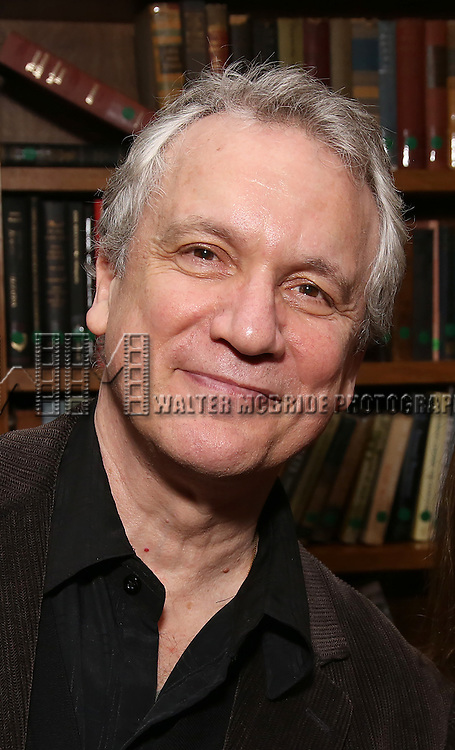Rick Elice attends the Dramatists Guild Fund Salon With Rick Elice at the Cornell Club on March 6, 2017 in New York City.