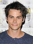 Dylan O'Brien arriving at the The Maze Runner at Comic-Con 2014  at the Hilton Bayfront Hotel in San Diego, Ca. July 25, 2014.