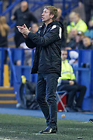 Swansea City manager Graham Potter reacts on the touch line during the Sky Bet Championship match between Sheffield Wednesday and Swansea City at Hillsborough Stadium, Sheffield, England, UK. Saturday 23 February 2019
