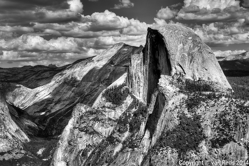 Tribute to Ansel Adams in Yosemite Park.