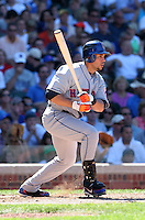 New York Mets outfielder Carlos Beltran #15 during a game against the Chicago Cubs at Wrigley Field on July 15, 2006 in Chicago, Illinois.  (Mike Janes/Four Seam Images)
