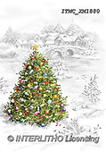 Marcello, CHRISTMAS LANDSCAPES, WEIHNACHTEN WINTERLANDSCHAFTEN, NAVIDAD PAISAJES DE INVIERNO, paintings+++++,ITMCXM1880,#XL#