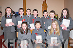 Students from Curraheen National School, Glenbeigh, who received their Confirmation from Bishop Bill Murphy in St James Church, Glenbeigh, on Tuesday..