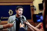 Roma, 4 Agosto 2016<br /> Nicola Fratoianni si Sinistra italiana presenta alla stampa le ragioni del No al Referendum Costituzionale di Ottobre
