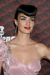 "LOS ANGELES, CA. - October 18: Actress Paz Vega arrives at the Spike TV's ""Scream 2008"" Awards at The Greek Theater on October 18, 2008 in Los Angeles, California."