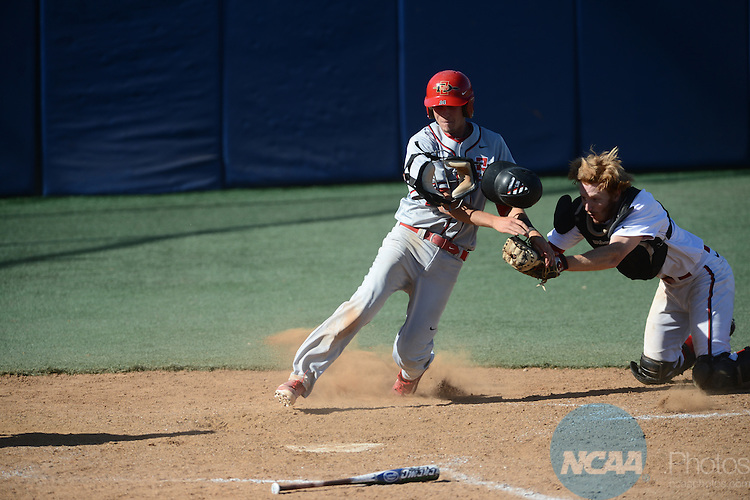 25 May 2013: SDSU defeats UNLV during the Mountain West Conference Baseball Tournament at Pete Beiden Field in Fresno, CA. Peter Lockley/NCAA Photos