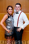 Marguerite Crowley and Micheal Maher contestants  at the Tralee Rugby Club's 'Strictly Come Dancing' event in the Ballyroe Heights Hotel on Friday night.
