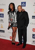 BEVERLY HILLS, CA - FEBRUARY 09: Brandy and Quincy Jones arrive at the The 55th Annual GRAMMY Awards - Pre-GRAMMY Gala And Salute To Industry Icons Honoring L.A. Reid at the Beverly Hilton Hotel on February 9, 2013 in Beverly Hills, California.PAP0213JP405.PAP0213JP405. Nortephoto