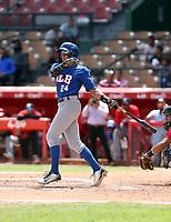 Gabriel Martinez participates in the MLB International Showcase at Estadio Quisqeya on February 22-23, 2017 in Santo Domingo, Dominican Republic.