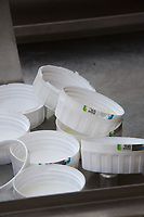 Chemical canister lids<br /> &copy;Tim Scrivener Photographer 07850 303986<br /> ....Covering Agriculture In The UK....