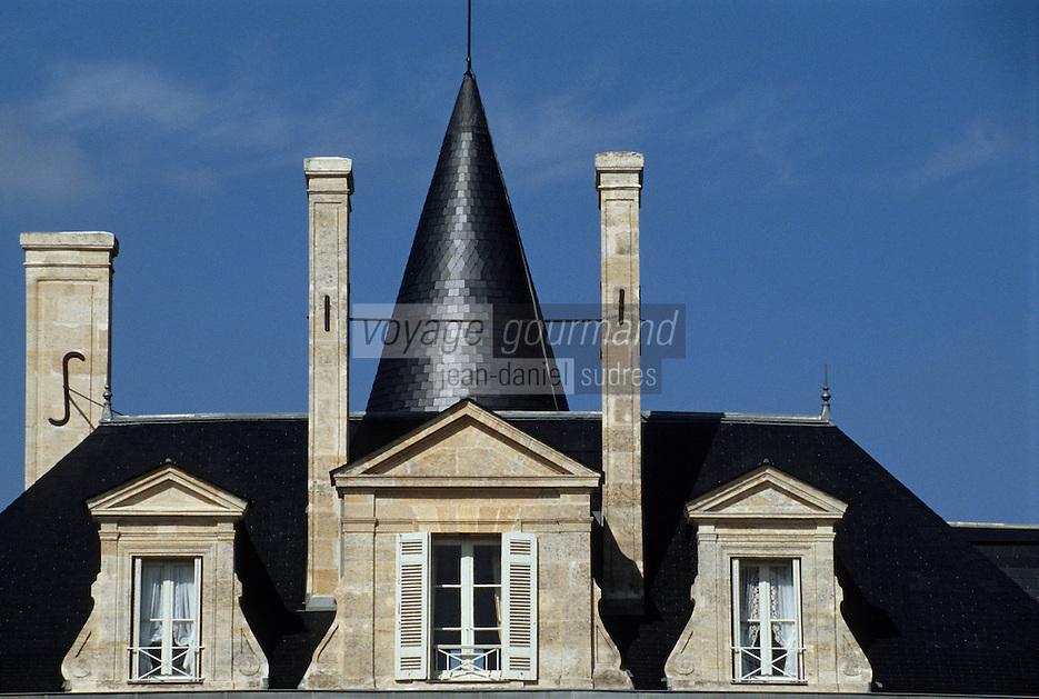 Europe/France/Aquitaine/33/Gironde/Pauillac: château de Pichon Longueville Comtesse de Lalande (AOC Pauillac) [Non destiné à un usage publicitaire - Not intended for an advertising use]