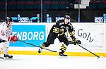 Stockholm 2015-01-04 Ishockey Hockeyallsvenskan AIK - Vita H&auml;sten :  <br /> AIK:s Conny Str&ouml;mberg i aktion under matchen mellan AIK och Vita H&auml;sten <br /> (Foto: Kenta J&ouml;nsson) Nyckelord:  AIK Gnaget Hockeyallsvenskan Allsvenskan Hovet Johanneshov Isstadion Vita H&auml;sten