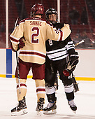 Scott Savage (BC - 2), Ryan Tait (PC - 8) - The Boston College Eagles defeated the Providence College Friars 3-1 (EN) on Sunday, January 8, 2017, at Fenway Park in Boston, Massachusetts.The Boston College Eagles defeated the Providence College Friars 3-1 (EN) on Sunday, January 8, 2017, at Fenway Park.