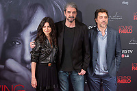 Spanish actress Penelope Cruz, director of the film Fernando Leon de Aranoa and spanish actor Javier Bardem attends to presentation of film 'Loving Pablo' in Madrid , Spain. March 06, 2018. (ALTERPHOTOS/Borja B.Hojas) / NortePhoto.com NORTEPHOTOMEXICO